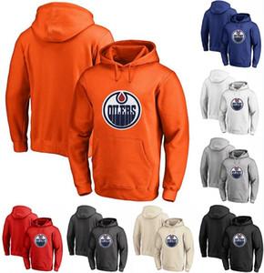 Эдмонтон Ойлерз Толстовка 28 Кайл Бродзиак 16 Джужхар Кхейра 33 Cam Talbot персонализированных пользовательских Hockey Sweatershirt трикотажных изделий