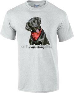 Laboratório preto-otomy do cão de Labrador do t-shirt