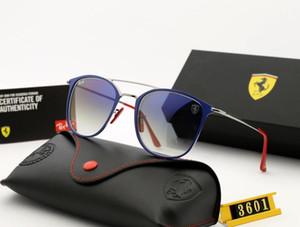 Новые 2019 вождения солнцезащитных очков для мужчин и женщин солнцезащитных очков тени с закаленным стеклом линзы
