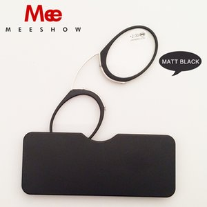 Gafas 2PCS New Noble Nose Clip Reading Glasses Tr90 Mini Sos، Power + 1.0- + 3.5 Wallet Reader with Lunettes Mix 2PCS 6105a C19042001