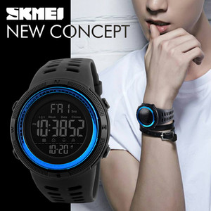 Luxury men's sports watch diving 30 meters digital LED military automatic watch Skmei men's fashion casual electronic watch Relojes
