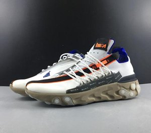 2020 React LW WR Mid Low ISPA Mens Designer Running Shoes Combination Soles React Element 87 Sneaker For Mens