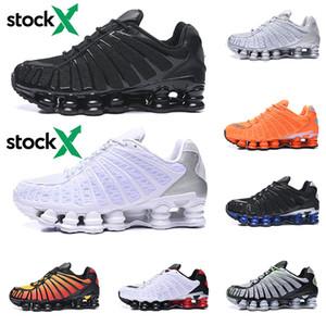 ucuz Nike Air Shox OG R4 Tasarımcı Koşu Ayakkabı Kadın Erkek OZ NZ 301 TESLIMCI Üçlü Siyah Beyaz Turuncu Gümüş Kırmızı Altın Eğitmenler Spor Sneakers 36-46