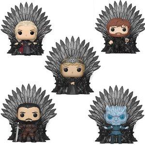 Game of Thrones Action Figures Sittinhg Position Iron Throne Funko POP Figure Model Kids Toys
