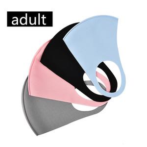 3D Yıkanabilir Ağız Moda Yeniden kullanılabilir Karşıtı Toz Kirliliği Yüz Shield Rüzgar Geçirmez Ağız-mufla Maske Unisex Yetişkin Çocuk Yüz Maskeleri Maske