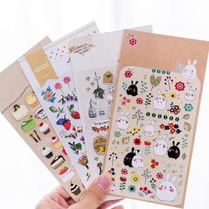 Kreatives Briefpapier Cartoon Hot Gold Wasserdichte Dekoration Handzettel Aufkleber Kinder Kindergarten Preis Poster