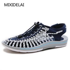 MIXIDELAI 2020 Sandales d'été Nouveau Arrived Hommes Chaussures Hommes Sandales qualité confortable Stylisme Casual Chaussures Sandales Hommes S200114