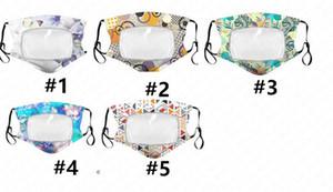 Maschera per adulti cotone sottile di modo trasparente respirabile maschere antipolvere protezione riutilizzabile lavabile maschera di 5 colori D62315
