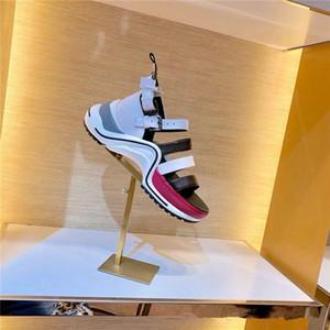 Signore di estate sandali Archlight donne Sneaker Sandali Sandali Fashion diapositive con quattro in pelle di vitello cinghie Beach casuale Perfetto primavera