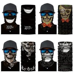 2020 Headband Pipe Head Band Skull Scarf Neck Shield Gaiter Face Mask Sun Men Women Soft Magic Tube Bandana Elastic Fishing Run #659#556