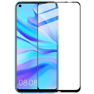 إلى Huawei Mate 30 Pro غطاء كامل 3D Edge Glue Anti Fingerprint Screen Protector الزجاج المقسى مع حزمة البيع بالتجزئة