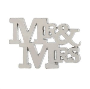 50PCS Mr.&Mrs. Design Silver Bottle Opener in Gift Box Kitchen Wedding Favors Bar Party Giveaways For Guest FREE SHIPPING