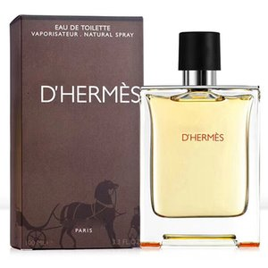 Promoción de la oferta a base de plantas / botánica Hombres perfume duradera fragancia ligera de Colonia Vaporizador Caja de Agua de Colonia para los hombres 100ml