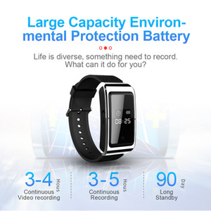 Full HD 1080P inteligente pulsera mini cámara 8GB 16GB 32GB reloj portátil Mini DV DVR cámara grabadora de vídeo digital de voz