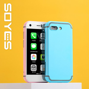 Updated 16GB SOYEES 7S سوبر ميني الهاتف الذكي 5.0MP HD كاميرا ثنائي سيم wifi bt رباعية النواة smartfon الصغيرة 3G اللمس الهاتف الخلوي للطالب