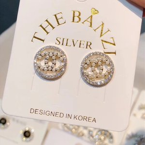 2019 A variety of styles of rhinestone alloy jewelry fashion earrings jewelry luxury earrings Mother's Day gift