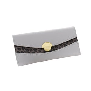 Women Wallets Lady Moneybags Coin Purse Clutch Purses Money Cards ID Holder Woman Envelope Leopard Wallet Bags