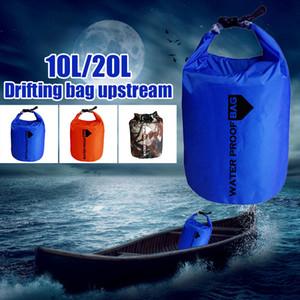 Sacs de natation portables Drifting Bag 210T Polyester Taff Sac étanche étanche Pratique Durable Sport Aviron Canoë Extérieur