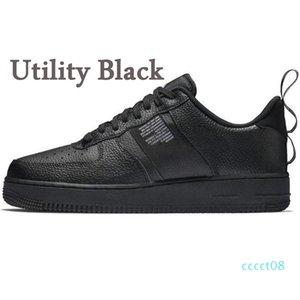 Dunk 1 Utility White Black Red Low MCA University Blue Volt Women Mens Flax Platform Casual Shoes Skateboard Leather Sneakers Size 36-45 ct8