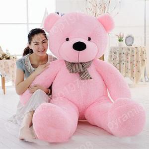 free shipping size: 80cm TEDDY BEAR STUFFED LIGHT BROWN GIANT JUMBO