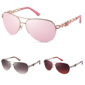 2020 populäre Art und Weise Sport-Sonnenbrille Randlos Klar Glas-Frauen Brillen Gold Silber Metallrahmen Buffalo Horn Gläser Und Fall # 425