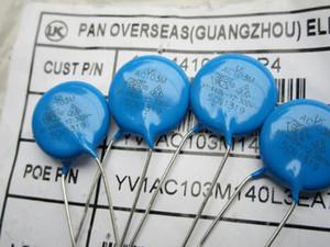 Taiwan safety ceramic chip Y capacitor LK AC103M X1 440AC Y2 300VAC pitch 8 film diameter 13