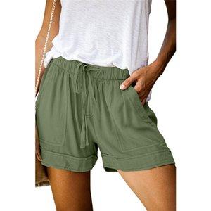 Pantalones cortos para mujer del traje de baño traje de baño Surf Beach Bermuda traje de baño de gran tamaño de las mujeres Pantalones cortos para mujer troncos de nadada # 773