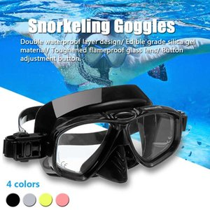 SGODDE закаленное стекло МОРСКИЕ очки высокого разрешения для ныряния Силиконовые бассейн Рыбалка Бассейн Оборудование Анти-запотевания