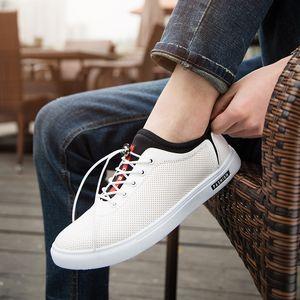 Attractive2019 Out Ocasional Lazer Tempo Pequeno Sapatos Brancos Masculino Conjunto Elástico Estudo Do Pé Lifetime Sapato Piso