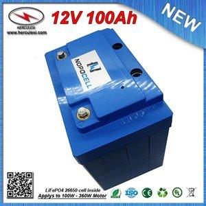 360 W Batteria agli ioni di litio 12 V 100Ah batteria Lipo per bici elettrica EV HEV auto scooter UPS Streetlamp sistema solare SPEDIZIONE GRATUITA
