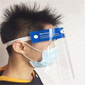HD Temizle Yüz Kalkanı Şeffaf İzolasyon Koruyucu Maske Yüz Maskeleri Anti Toz Ağız Yüz Koruyucu Şapkalar CE sertifikası E32501 ile