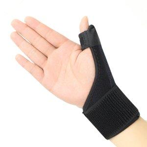 Tıbbi Bilek Elastik Başparmak Wrap El Palm Bilek Brace Atel Destek Artrit Ağrı Spor Eğitim Başparmak Donatılmış Düzeltme