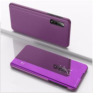 Magentic de lujo Espejo inteligente teléfono caso para Xiaomi k20 k20pro Flip Case prueba de golpes cubierta para Xiaomi 9SE redmi
