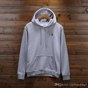 Il trasporto libero 2018 nuova vendita calda Mens POLO pullover e felpate casuale autunno inverno con i hoodies uomini giacca cappuccio lo sport di un