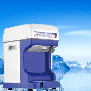 Коммерческое использование 220v Электрический снег Ice Shaver бритая Ice Cream брить Maker машина Дробилка Бесплатная доставка