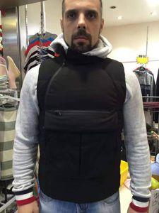 Topstoney мужское и женский Жилет Star совместного жилета является обязательным для зимних модных мужчин Утолщения и сохранение теплоты 3 среднего цвета