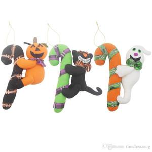 Geben Sie Schiff Halloween Dekoration Spielzeug nach Hause Hotelmarkt kreative Puppe Kürbis Ornamente Maskerade Türdekor Partei liefert Großhandel