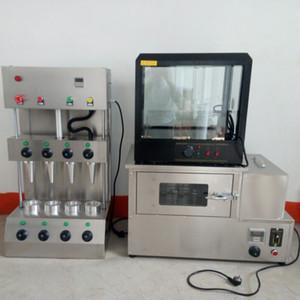 Yeni tasarım bir pizza koni makinesi paslanmaz çelik tatlı koni pizza yapma makinesi el bir pizza koni yapma makinesi 110V / 220V