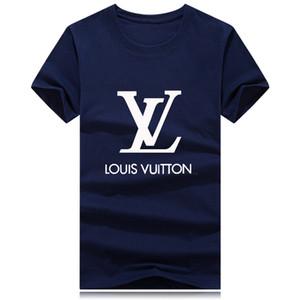 20 femmes concepteur USA T-shirts de la femme rétro occasionnels court été de | Impression coton à manches Top matériaux haut niveau lettre broderie t-shirt