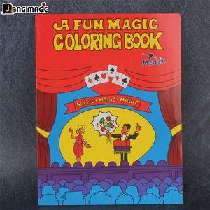 libro de bolsas de dibujos animados Red Magic decoloración gran magia del rompecabezas de los niños de los apoyos No se sabe gobbledygook JBNG MAGIC