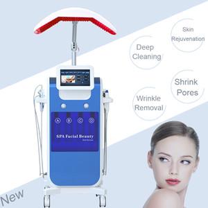 Sıcak satış salonu mikrodermabrazyon Makinelerin kırışıklıklar kaldırma hidra yüz Akne tedavisi mikro akım makinesi hydrafacial elmas Dermabrazyon