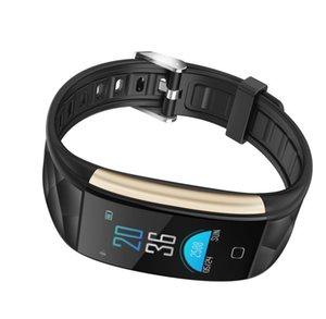 T20 Smart-Armband-Blutdruck-Blut-Sauerstoff-Pulsuhr Fitness Tracker Sports wasserdichte Armbanduhr für iPhone iOS Android