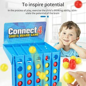 Connect 4 Shots Jeu Enfants Enfants Famille Match Game parent-enfant famille jouets interactifs Noël Noël Cadeaux Caméra surprise