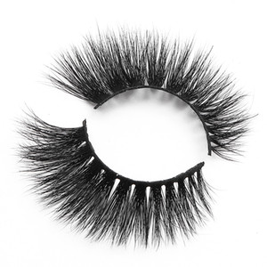 [Mink False Eyelashes-MX08]wholesale 100% real 5d mink hair individual one pair false eyelash lash extension supplier