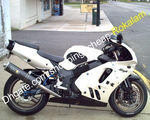 Ninja ZX 9R 94-97 Carenado Blanco Negro Conjunto para Kawasaki 1994 1995 1996 1997 ZX9R ZX9R ABS kit de carenado