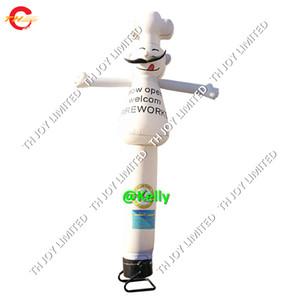 Danzatore del sky chef per la pubblicità all'aperto Promozione Promozione su misura Air Dancer Air Dancer Sky Dancing Man Models