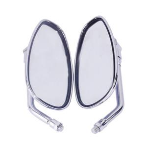 Левая правая сторона зеркала заднего вида подходят для Honda мотоцикл тень повстанца VTX VT CB круиз