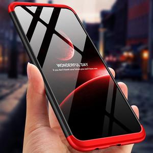 Coque de protection en plastique dur à couverture intégrale 360 degrés pour une protection anti-choc pour Huawei P30 Lite