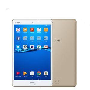 Genuina 8.0inch Huawei MediaPad M3 Lite 4 GB de RAM 64 GB ROM de Android 7.0 Tablet PC LTE Snapdragon435 MSM8940 Octa Core de 8.0 megapíxeles de huellas dactilares PC ID