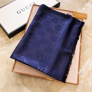 Hot Sale Silk Scarf Fashion Man Womens 4 Seasons Shawl Scarf Scarves Size about 180x70cm 6 Color with no box